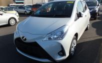 TOYOTA  VITZ  F SAFETY EDITI 2018